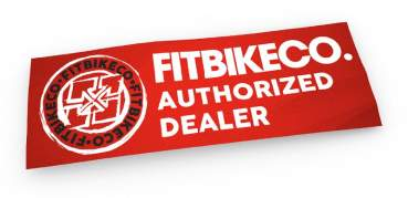 Sticker Fit Authorized Dealer