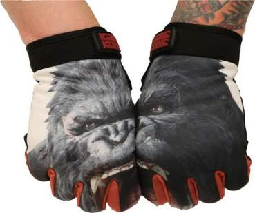 Gloves King Kong Angry