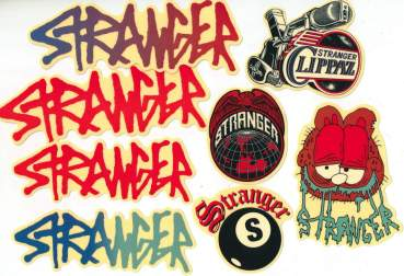 Stickerset Stranger (8 pcs)